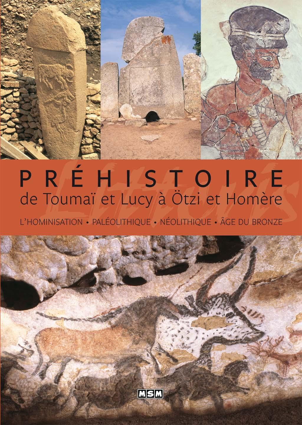 Préhistoire, de Toumaï et Lucy à Ötzi et Homère