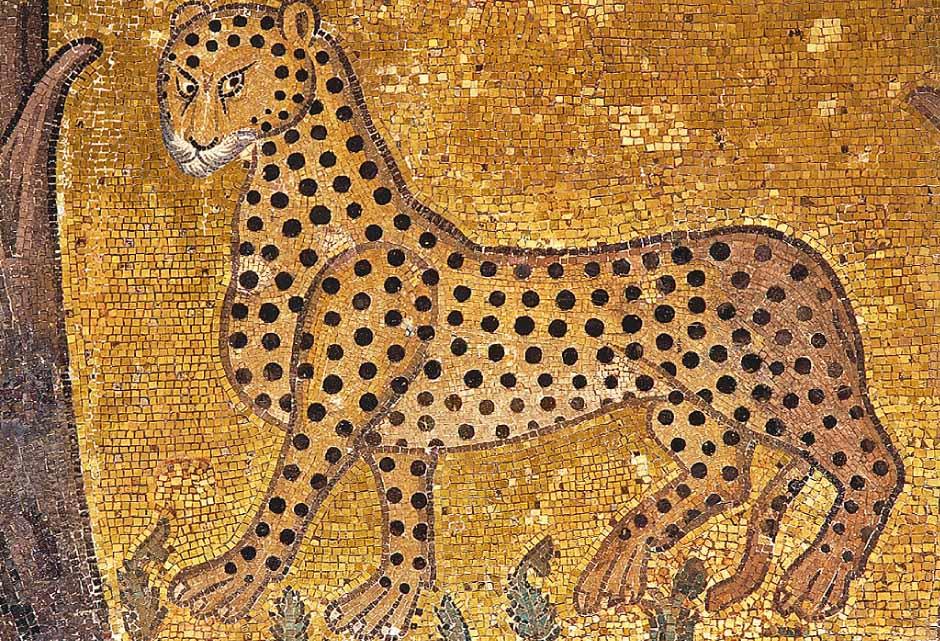 La mosaïque au léopard