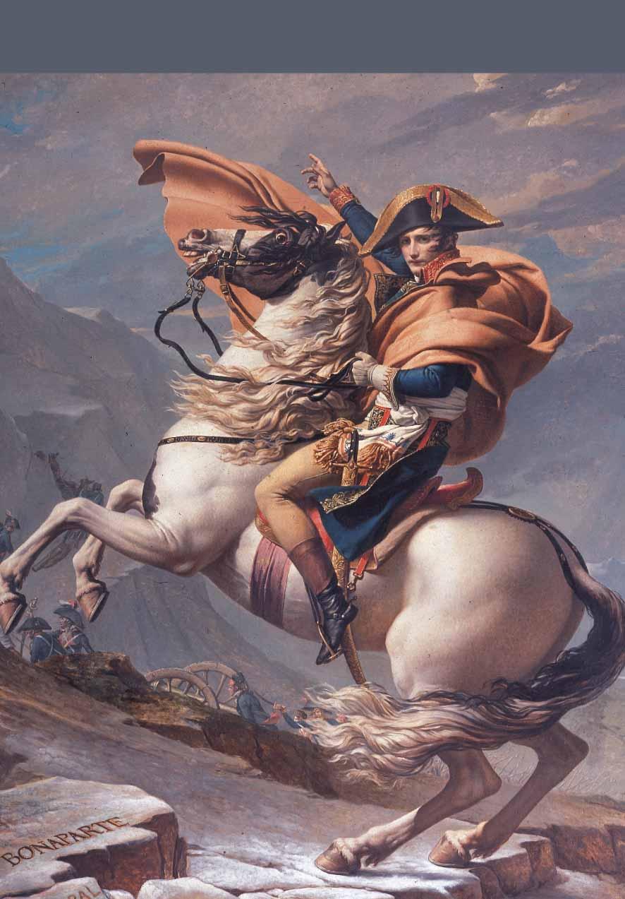 Bonaparte franchissant les Alpes au col du Grand-Saint-Bernard