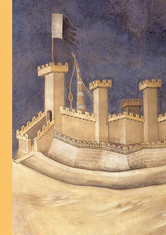 Détail de la fresque de Simone Martini