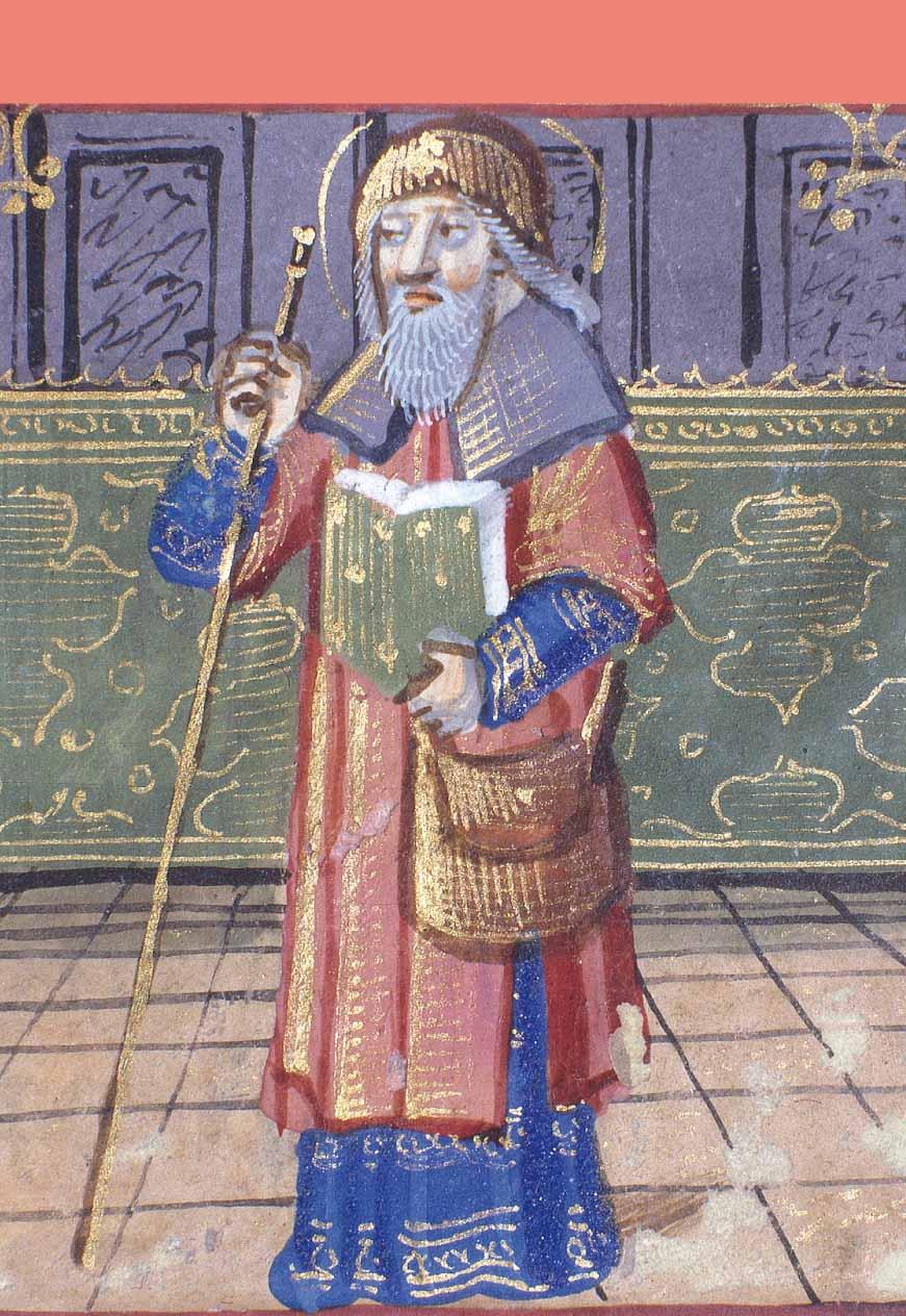 Saint Jacques le Majeur en pèlerin