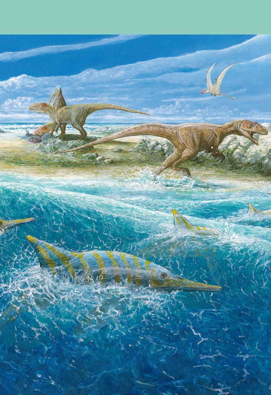 Scène du Jurassique inférieur